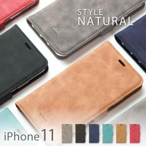 iPhone11 ケース 手帳型 iphone 11 ケース スマホケース アイフォン  11 手帳型 アイフォン11 カバー スエード 手帳型 本革風 STYLE NATU