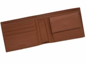 ボッテガヴェネタ 財布 148324-2531 BOTTEGA VENETA ボッテガ メンズ 二つ折り小銭入付 横長 イントレッチャート ナッパ トス