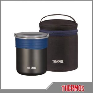 《THERMOS(サーモス)》保温ごはんコンテナー JBP-360 BK ブラック[カテゴリ:弁当箱-保温]