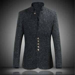 テーラードジャケット ブレザージャケット 大きいサイズあり メンズジャケット 男性用 ブルゾン 秋冬 無地 長袖