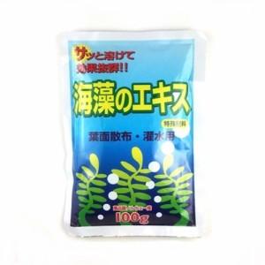 """""""有機肥料 海藻 の エキス"""""""