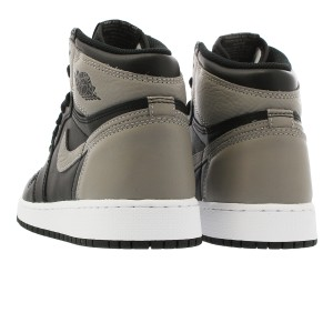 847f96e404cd NIKE AIR JORDAN 1 RETRO HIGH OG GS BLACK MEDIUM GREY WHITE  SHADOW ...