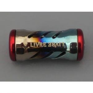 LIVRE(リブレ) リール ノブ単体(マージア)  1個 (ファイヤー+レッドC)    )(未使用品)