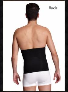 メタマッスルベルト 防寒 メンズ 男性用 加圧インナー 薄く・軽く・暖かい  アウターにひびかない発熱ヒート腹巻き ゲルマニウム