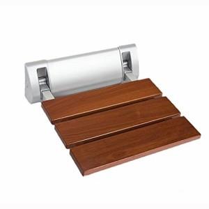 レッドサンダルウッドバスルームスツールシャワー折りたたみチェアウォール(未使用品)