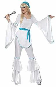 【中古】【輸入品 未使用 】歌手 青 白 衣装、コスチューム ディスコ