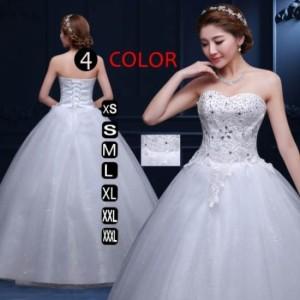 dc81fb995c8e5 編み上げ フォーマルドレス ウェディングドレス ゲストドレス ゲストドレス ブライダル エンパイアドレス マキシワンピース 大きいサイズ
