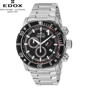 エドックス[EDOX] ショッピングローン無金利対象品 クロノオフショア1 クロノグラフ 10221-3M-NIN