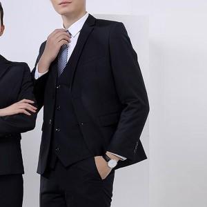 dd129515048c9 スーツ メンズ パンツスーツ ブラックフォーマル セットアップスーツ ビジネス 2色 ネイビー 就職活動 フォーマル 全店