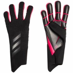 プレデターグローブ PRO ブラック×ショックピンク 【adidas|アディダス】サッカーゴールキーパーグローブiri28-fs0395