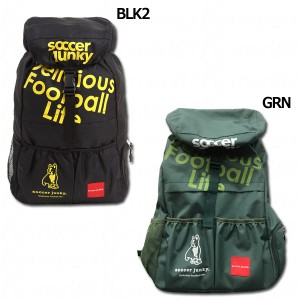 0b4b476b9533 旅のお供+1 バックパック 【SoccerJunky|サッカージャンキー】サッカーフットサルバッグ