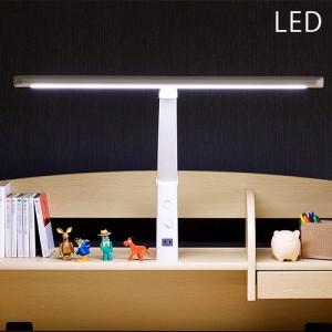 [無段階調光機能/コンセント付/クランプタイプ] T型 LED デスクライト LDY-1217TN-OH LEDデスクライト LEDライト 学習デスク用 学習机用