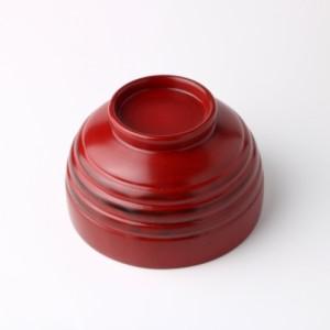 天然木製 小汁椀 宴 根来 漆塗り