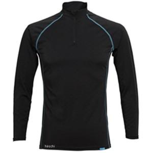 フリーズテック FREEZE TECH 2018年春夏モデル 冷却インナーシャツ 長袖 ジップ 黒 Lサイズ 4549384011425 WO店