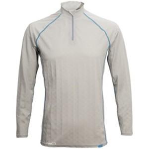フリーズテック FREEZE TECH 2018年春夏モデル 冷却インナーシャツ 長袖 ジップ アイスグレー XLサイズ 4549384011494 WO店