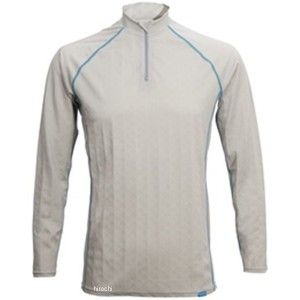 フリーズテック FREEZE TECH 2018年春夏モデル 冷却インナーシャツ 長袖 ジップ アイスグレー 2XLサイズ 4549384011500 WO店