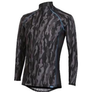 フリーズテック FREEZE TECH 2018年春夏モデル 冷却インナーシャツ 長袖 ジップ カモブラック Lサイズ 4549384011548 WO店