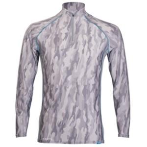 フリーズテック FREEZE TECH 2018年春夏モデル 冷却インナーシャツ 長袖 ジップ カモグレー Mサイズ 4549384011593 WO店