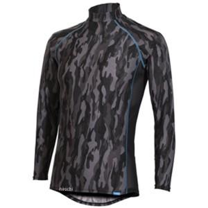 フリーズテック FREEZE TECH 2018年春夏モデル 冷却インナーシャツ 長袖 ローネック カモブラック 2XLサイズ 4549384011807 WO店