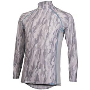フリーズテック FREEZE TECH 2018年春夏モデル 冷却インナーシャツ 長袖 ローネック カモグレー Sサイズ 4549384011821 WO店
