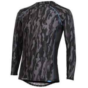 フリーズテック FREEZE TECH 2018年春夏モデル 冷却インナーシャツ 長袖 クルーネック カモブラック 2XLサイズ WO店