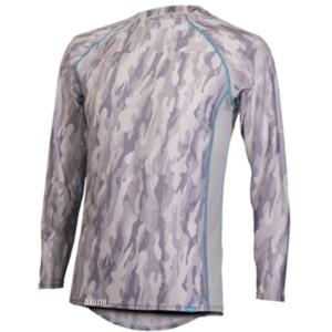 フリーズテック FREEZE TECH 2018年春夏モデル 冷却インナーシャツ 長袖 クルーネック カモグレー レディース用 WSサイズ WO店