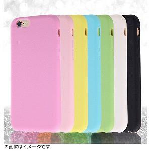 レイ・アウト iPhone6用 スリップガードシリコンジャケット RT‐P7C2/W (ホワイト)