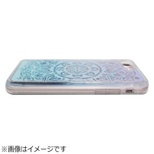 ROA iPhone 8 Sparkle case ホワイト lace IC10342I7S