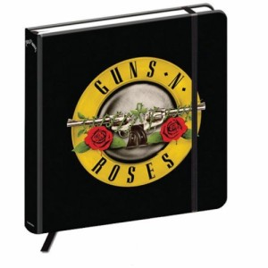 GUNS N ROSES ガンズアンドローゼズ - CLASSIC LOGO / ノート 【公式 / オフィシャル】