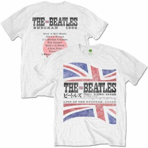 ビートルズ武道館50周年記念  BEATLES ビートルズ - BUDOKAN SET LIST(ヴィンテージ加工) / Tシャツ /