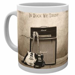 AC/DC エーシーディーシー - In Rock We Trust / マグカップ 【公式 / オフィシャル】