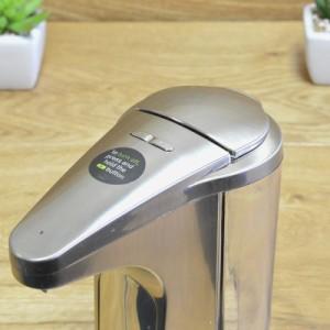 シンプルヒューマン センサー式 ポンプ 石けん サニタイザー simplehuman Sensor Pump for Soap or Sanitizer