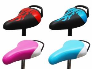 CHALINX 自転車用 サドル 子供用自転車向け シートポスト付 Φ25.4mm 14インチ 16インチ 18インチ 【送料無料(一部地域除く)】