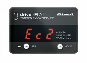 pivot ピボット スロコン 3-drive・FLAT ハーネスセット(本体 THF2 + ハーネス TH-1C)