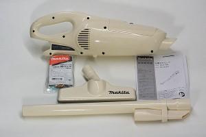 マキタ 紙パック式 コードレス掃除機本体 【7.2V  CL072DZ 本体のみ、バッテリ、充電器がないと使用できません】
