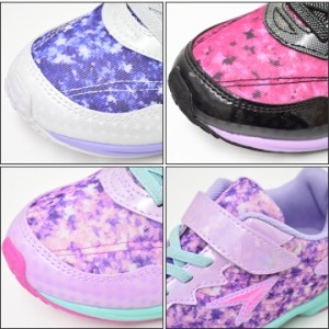 dd13ddbfb5070 ジュニアシューズ 瞬足レモンパイ 女の子 子供靴 19-23.0cm ガールズ スニーカー マラソン 通学 小学校 靴 LEJ5650