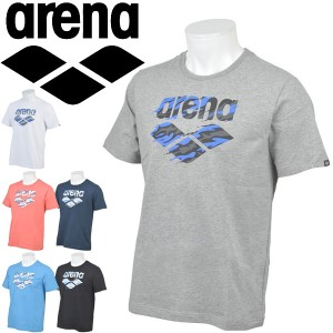 8b59107bcb9 Tシャツ 半袖 メンズ レディース arena アリーナ スポーツウェア 水泳 競泳 水球 プラクティスシャツ トレーニング 部活