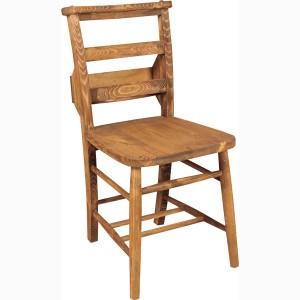 ダイニングチェア おしゃれ 天然木 パイン カントリー 収納付き 肘なし 食卓 椅子 新生活