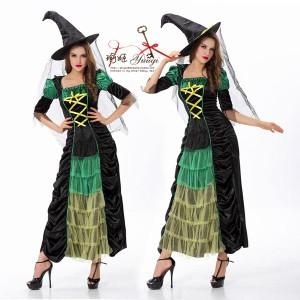 429fe8f204473 魔女 コスプレ ハロウィン衣装 とんがり帽子 ハロウィン パーティー 仮装 コスプレ クリスマス ロング丈 送料無料 お呼ばれ