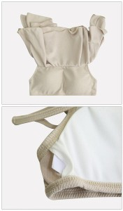 9916ca101da オフショルスタイルのバンドゥビキニ 送料無料 お呼ばれ 大人かわいい ワンピース 結婚式 ドレス フォーマルドレス パーティードレス OL