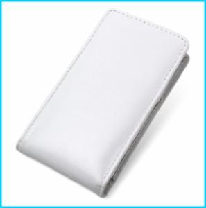 e9f2908ed1 PDAir ミヤビックス PDAIR レザーケース for DIGNO DUAL WX04K WILLCOM バーティカルポーチタイプ(ホワイト)