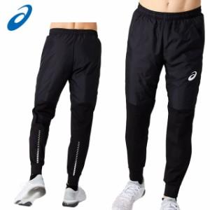 アシックス ロングパンツ メンズ パデッドピステパンツ 2101A053 asics 裾ファスナー付き 左右ポケット付き 防風性