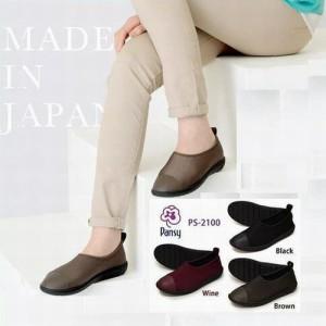 Pansy パンジー2100レディース 婦人靴 軽量 デイリーシューズ 快適 通気性 抗菌 防臭 リラックス 伸縮性 ソフト 優しい 歩きやすい