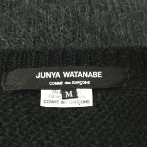 JUNYA WATANABE  / ジュンヤワタナベ レディース ニット 色:黒xグレーx白等 サイズ:M