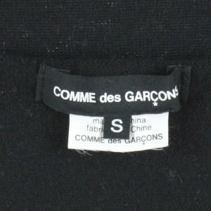 COMME des GARCONS  / コムデギャルソン レディース ニット 色:黒 サイズ:S