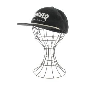 THRASHER / スラッシャー メンズ 帽子 色:黒 サイズ:-