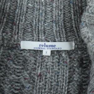 JOURNAL STANDARD relume / ジャーナルスタンダードレリューム メンズ ニット 色:グレー系 サイズ:S