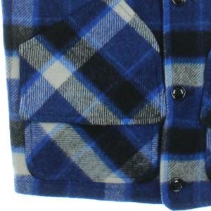 FIDELITY / フィデリティー メンズ ブルゾン 色:青x黒x白(チェック) サイズ:M