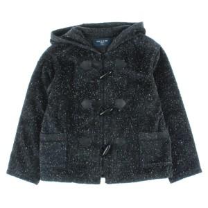 COMME CA DE MODE FILLE / コムサデモードフィユ キッズ コート 色:黒系x白系 サイズ:130