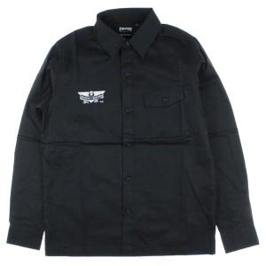 THRASHER / スラッシャー メンズ シャツ 色:黒系x白系 サイズ:M